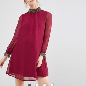 Asos embellished dress